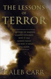 The lessons of terror by Carr, Caleb