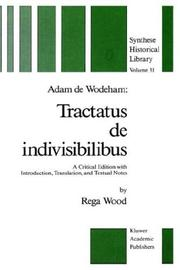 Adam de Wodeham: Tractatus de Indivisibilibus