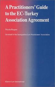 A Practitioners' Guide to the EC-Turkey Association Agreement PDF