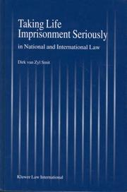 Taking life imprisonment seriously in national and international law PDF
