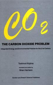 The Carbon Dioxide Problem by Toshinori Kojima