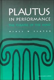 Plautus in Performance PDF