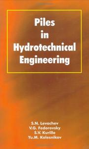 Piles Hydrotechnical Engineering PDF