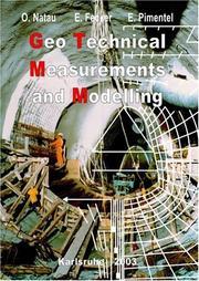 Geotechnical Measurements & Modelling PDF