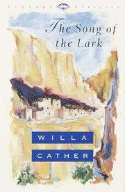 Cover of: The song of the lark by Willa Cather
