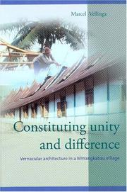 Constituting unity and difference by Marcel Vellinga
