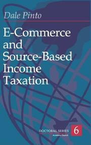 E-commerce and source-based income taxation by Dale Pinto