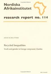 Recycled Inequalities by Ann Schlyter