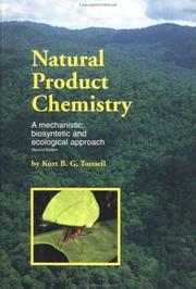 Natural product chemistry by Kurt Torssell