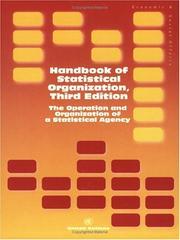 Handbook of statistical organization