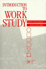 Cover of: Introduction to work study by edited by George Kanawaty.