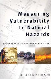 Measuring Vulnerability to Natural Hazards PDF