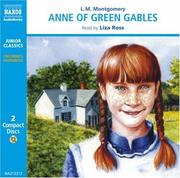 Cover of: Anne of Green Gables (Classic Literature With Classical Music. Junior Classics) by L. M. Montgomery