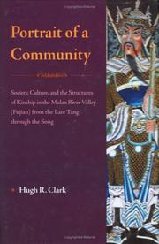 Portrait of a community by Hugh R. Clark