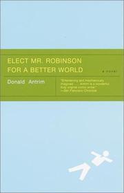 Elect Mr. Robinson for a better world PDF