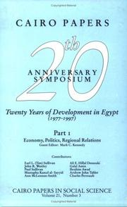 Twenty Years of Development in Egypt PDF