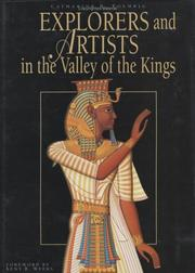 Explorers and Artists in the Valley of the Kings by Catharine H. Roehrig