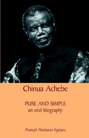 Chinua Achebe by Phanuel Akubueze Egejuru