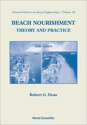 Beach Nourishment by Robert G. Dean