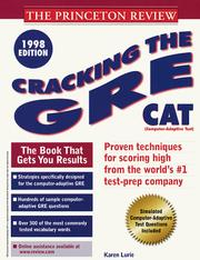 Cracking the GRE CAT PDF