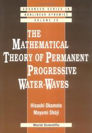 The mathematical theory of permanent progressive water-waves PDF