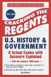 Cracking the Regents by Princeton Review
