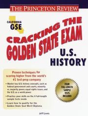 Cracking the Golden State Exams PDF
