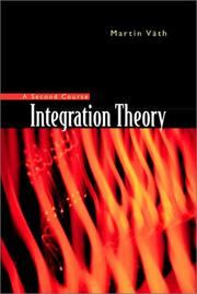 Integration theory by Martin Väth
