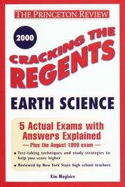 Cracking the Regents Earth Science, 2000 Edition PDF