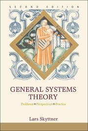 Cover of: General Systems Theory by Lars Skyttner