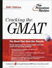 Cracking the GMAT, 2001 Edition (Cracking the Gmat Cat) PDF