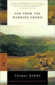 Cover of: Far from the madding crowd by Thomas Hardy