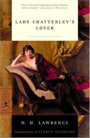 Cover of: Lady Chatterley's lover by D. H. Lawrence