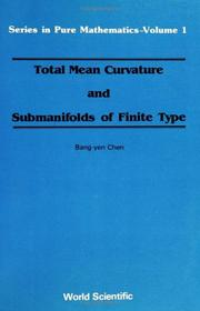Total mean curvature and submanifolds of finite type PDF