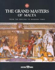The grand masters of Malta by Pawlu Mizzi
