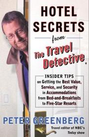 Hotel secrets from the travel detective PDF