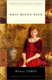 Cover of: What Maisie knew by Henry James, Jr.
