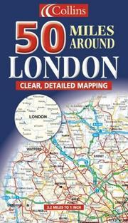 50 Miles Around London (Map)