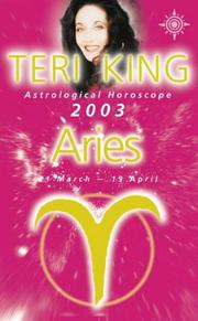 Teri King's Astrological Horoscope for 2003 by Teri King