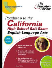 Roadmap to the California High School Exit Exam by Princeton Review