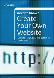 Collins Need To Know? Create Your Own Website by