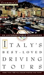 Frommers's Italy's Best-loved Driving Tours (Frommer's Best-Loved Driving Tours. Italy, 4th ed) PDF