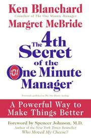 4th Secret of the One Minute Manager PDF