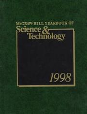 Cover of: McGraw-Hill Yearbook of Science &amp; Technology 1998 (Mcgraw Hill Yearbook of Science and Technology) by McGraw-Hill Encyclopedia of Science &amp; Technology