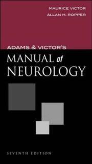 Adams and Victors Manual of Neurology