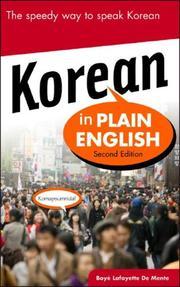 Korean in Plain English, Second Edition (In Plain English) PDF