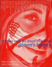 33 Things Every Girl Should Know About Women's History PDF