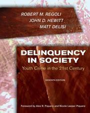 Delinquency in Society: