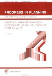 Changing Intra-Metropolitan Accessibility in the US PDF