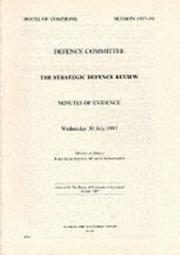 The Strategic Defence Review PDF